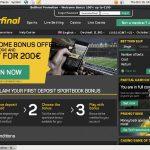 Бонус Betfinal Sports