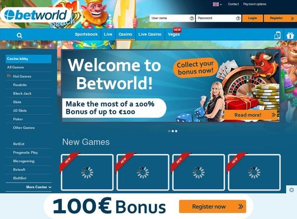 Betworld Signup Bonus Offer