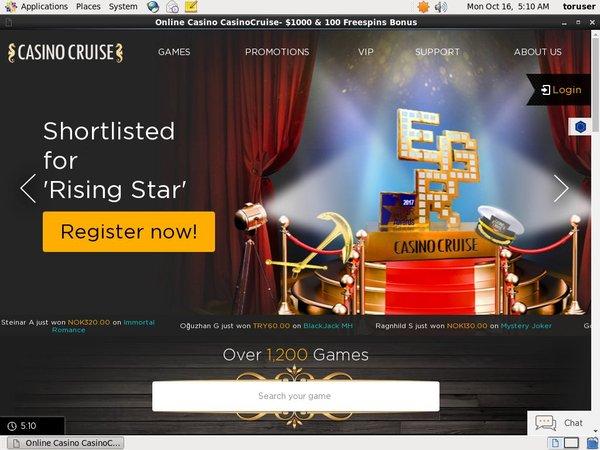 Casino Cruise Entercash