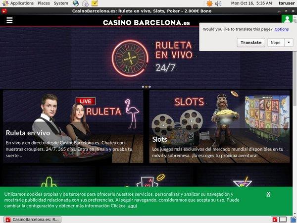 Casinobarcelona бонус на депозит