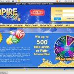 Empire Bingo Special Bonus