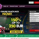 Fruity Casa Blackjack Sign Up Offer