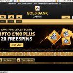Goldbankcasino Spil Poker