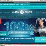 Platin Casino Mobile