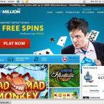 Playmillion Welcome Bonus No Deposit