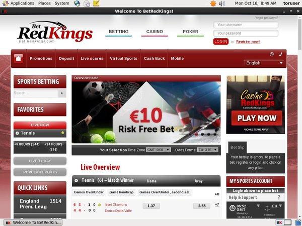 Redkings Casinos Online