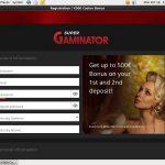 Super Gaminator Bonuscode