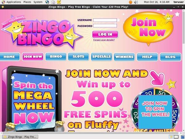 Zingo Bingo Free Pokies