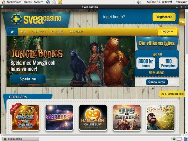 Svea Casino Slot Machines