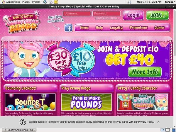Candyshopbingo Pay By Phone