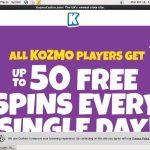 Kozmo Casino Sign Up Code