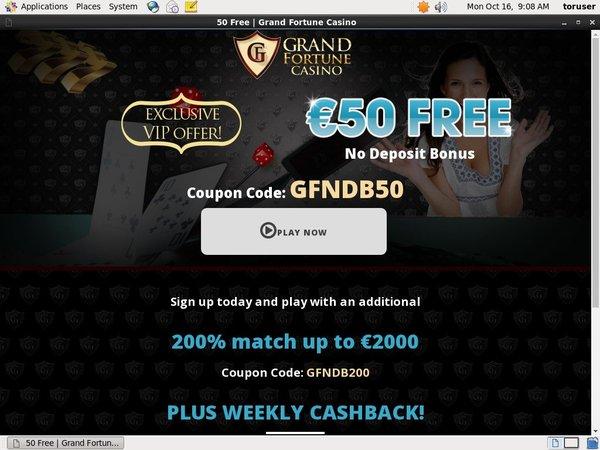 Grand Fortune Code