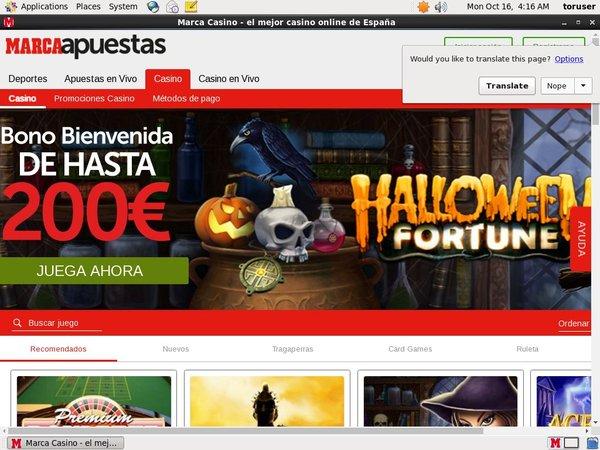 Marcaapuestas Casino Mobile