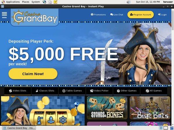Casino Grand Bay Free Spin