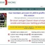 Cleeveracing New Betting Slip