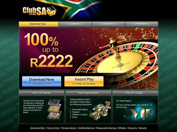 App Club SA Casino