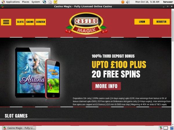 Casinomagix Promotions