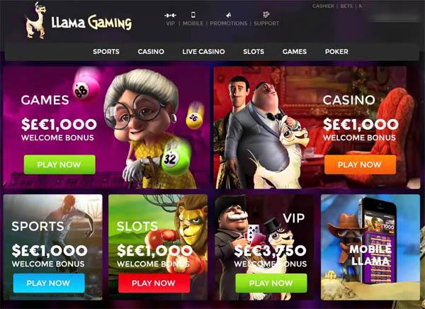 Llama Casino Spill