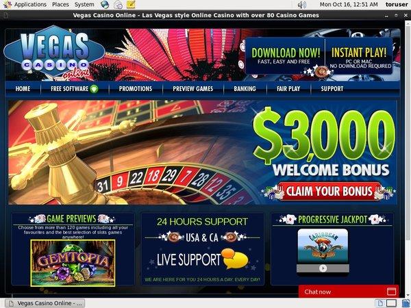 Vegascasino 免费