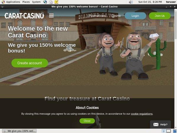 Carat Casino Euros