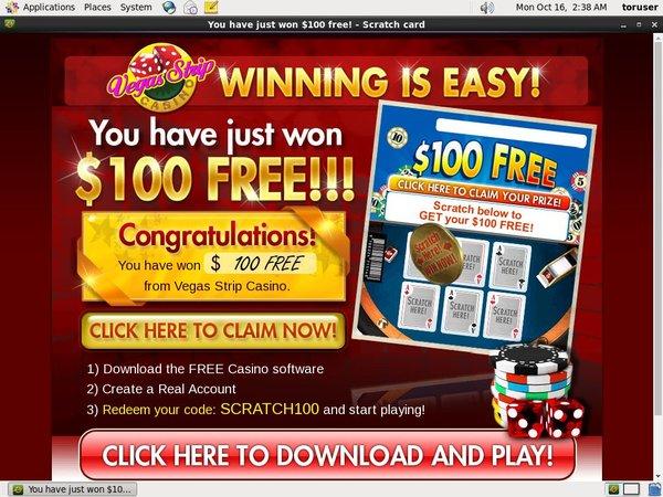 Vegas Strip Casino På Nett