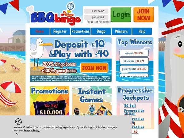 BBQ Bingo Deals