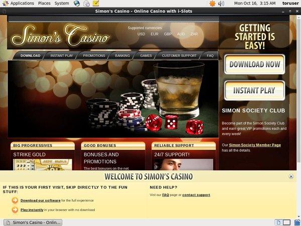 Simon Says Casino Pocketwin